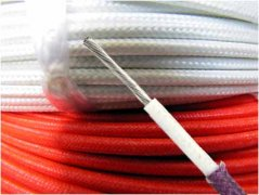 Glass fiber insulated heat-resistant (GBB) wires and cables