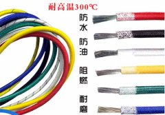 Mica silicone braided wire and cable