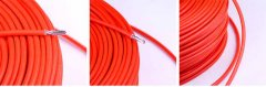 Characteristics of silicone braided wires and cables