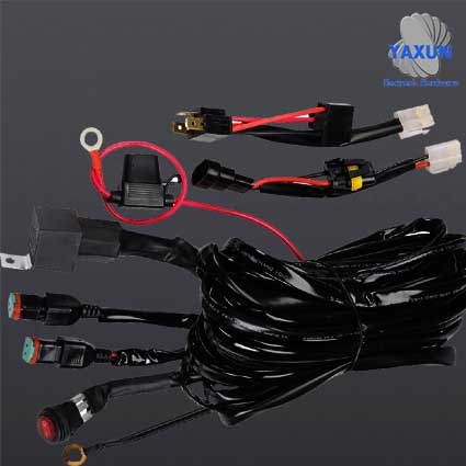 Production process of automobile wiring harness (bar wiring, mictuning mic wiring, led light wiring)